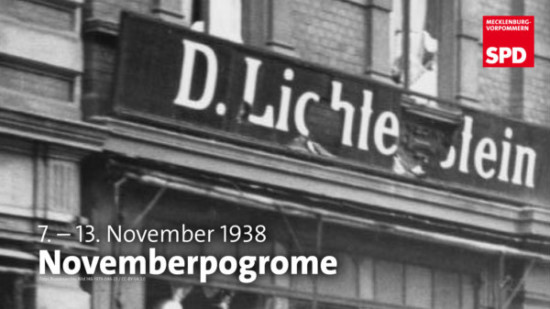 7.-13. November 1938 Novemberpogrome